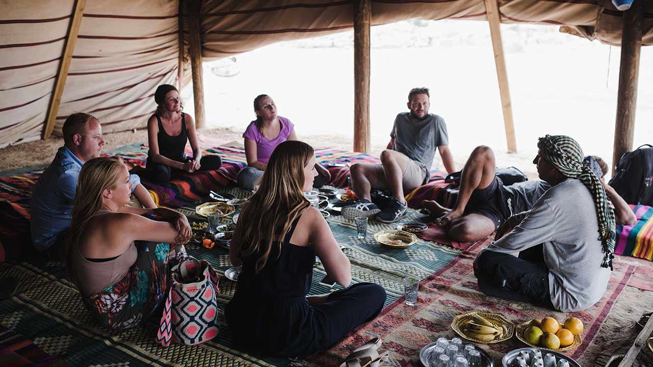 מפגש עם סלמאן בכפר אריכא