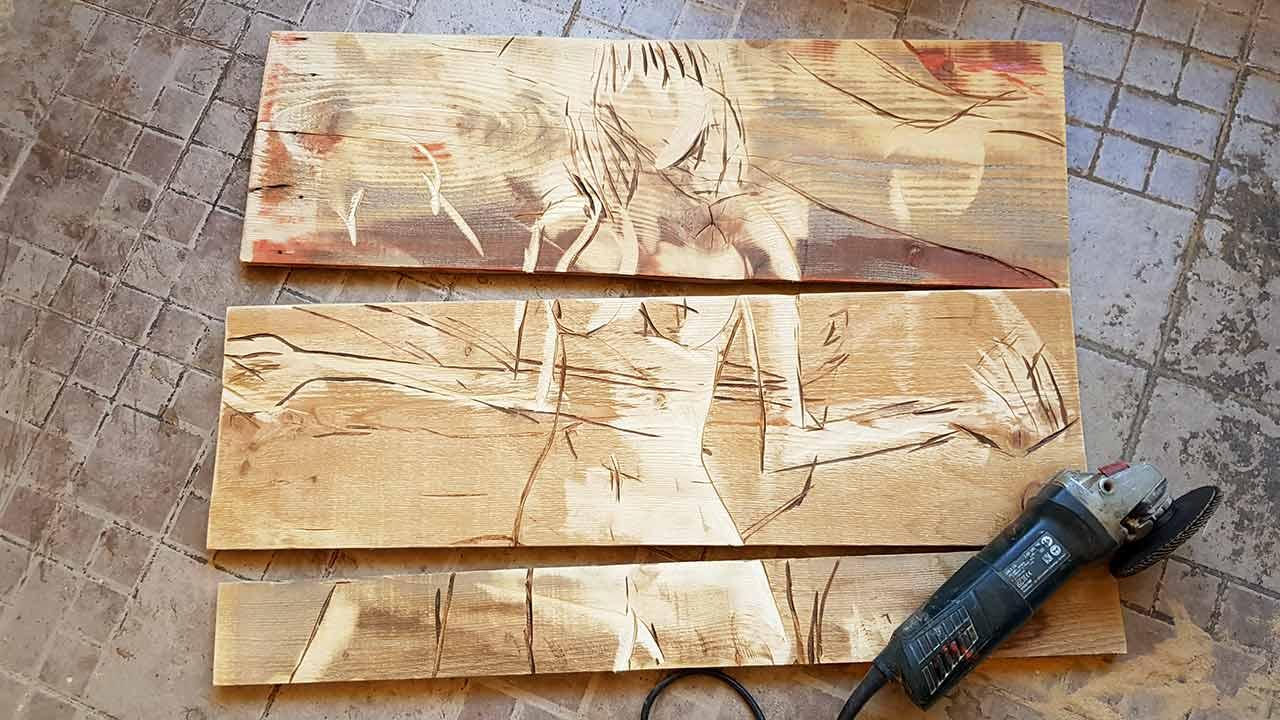 אביטל איפרגן - אמן רישום בעץ במצפה רמון