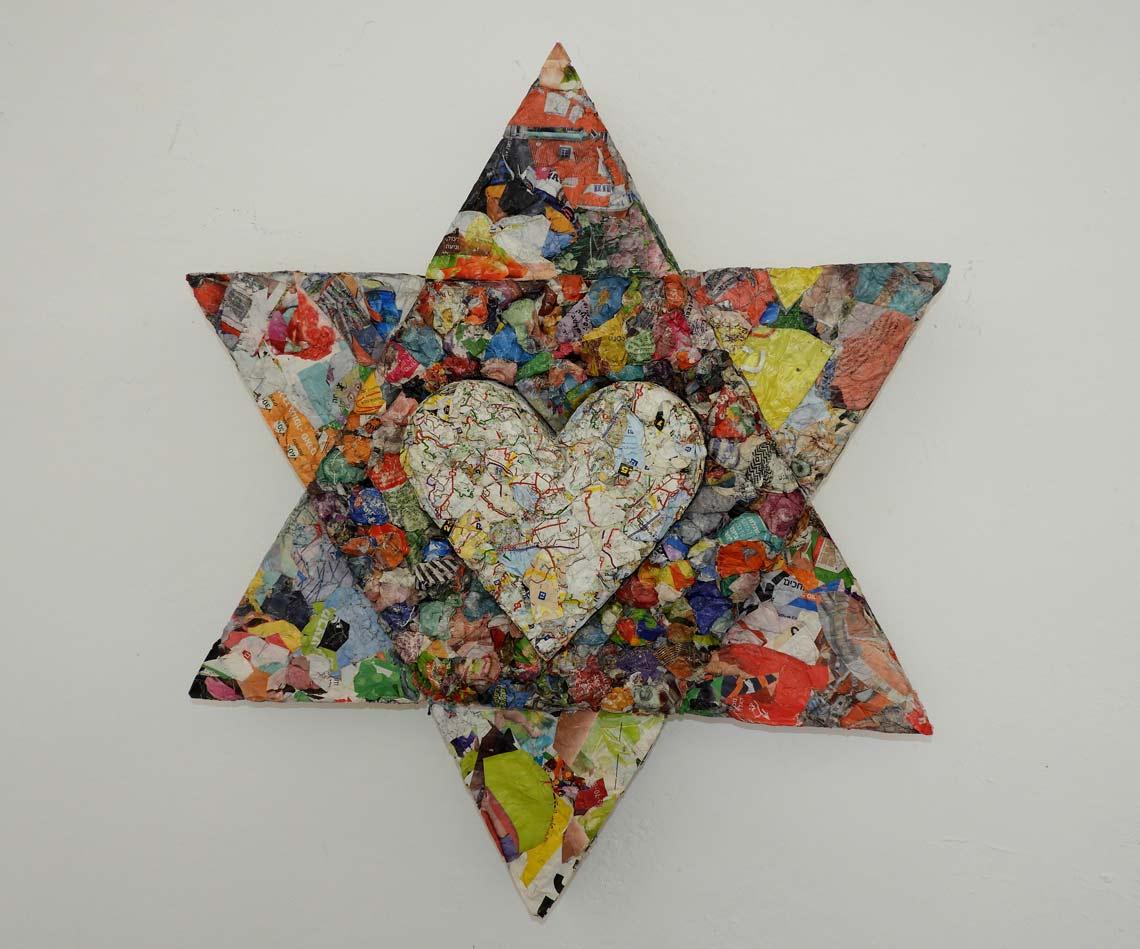 משה גורדון - אמן נייר במצפה רמון