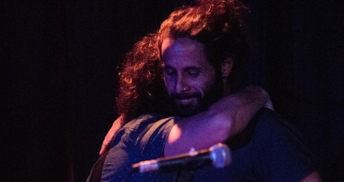 נדב מלמן בפסטיבל פרמטה מצפה רמון 2019
