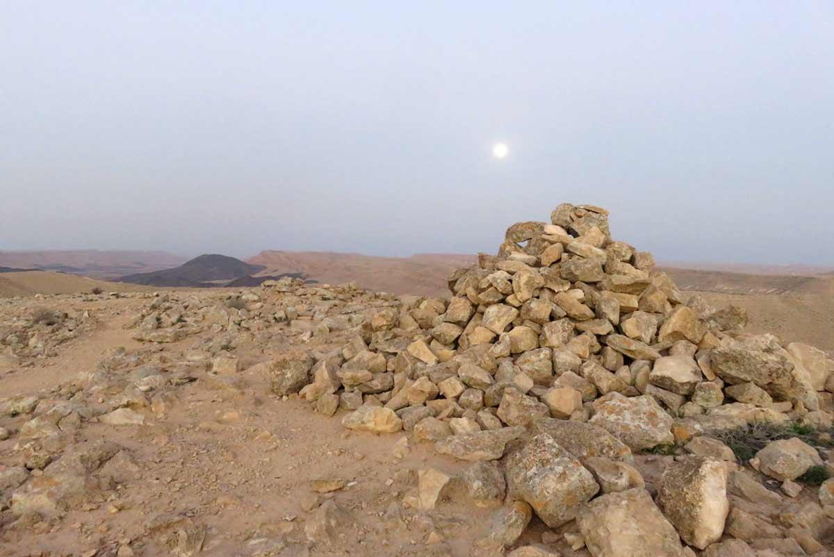 טומולי בהר רמון