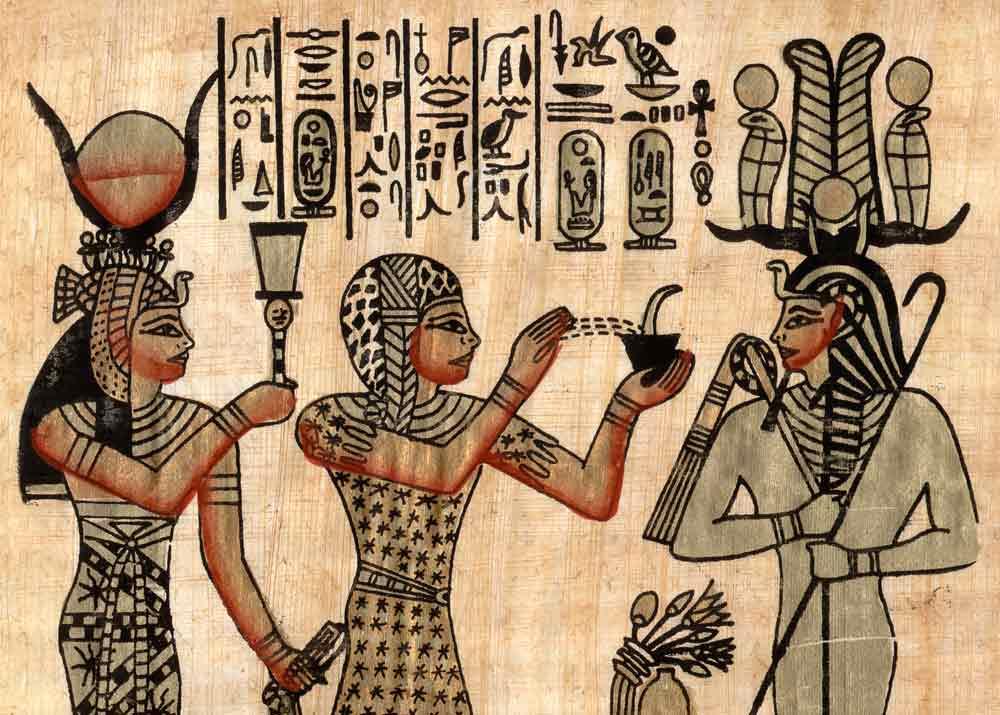 ארומתרפיה במצרים העתיקה