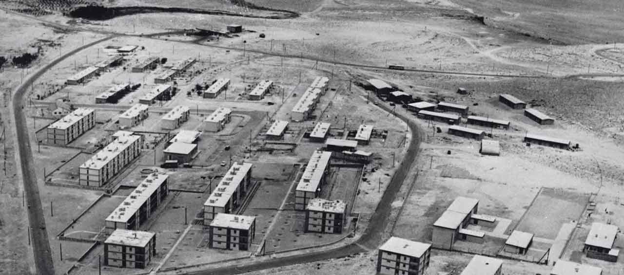 מצפה רמון בשנת 1963