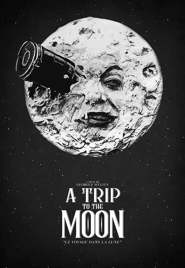 כרזת הסרט מסע אל הירח